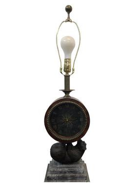 Maitland Smith Clock Table Lamp