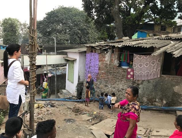 Parsik Nagar - Slum Transformation