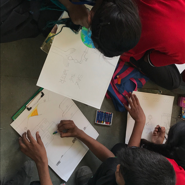 Art Camp on World Water Day - 2019