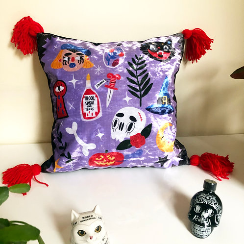 Witchy Spells Luxury cushion