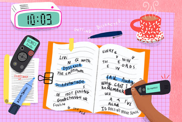 Learning And Living With Dyslexia