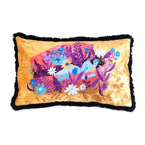 Floral Vampire cushion