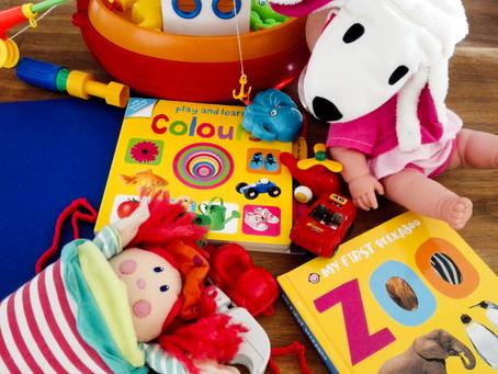Idee giochi per 3 fasce di età: 6-12 mesi, 18-30 mesi, 3-4 anni