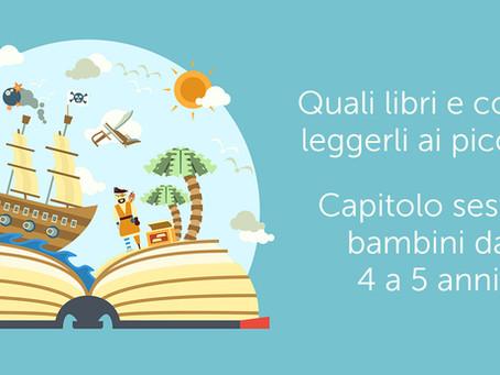 Sesto appuntamento lettura: leggere con i  bimbi di 4 e 5 anni.