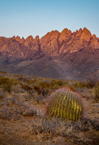 """""""Sunset in the Organ Mountains"""""""