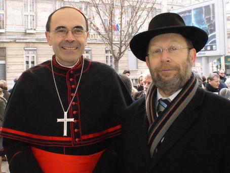 L'hommage du Grand Rabbin de Lyon