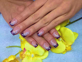 Studio Nailart I Glitter I Nagelstudio I Gelnägel Colour of Nails