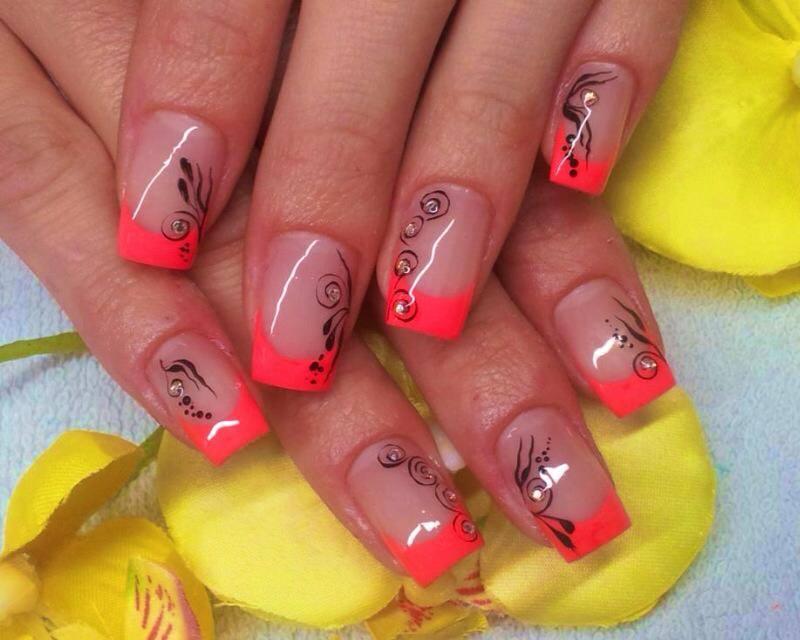 neon nails nagelstudio wien umgebung i nageldesign gerasdorf i gel i acryl - Nageldesign Fotos Beispiele