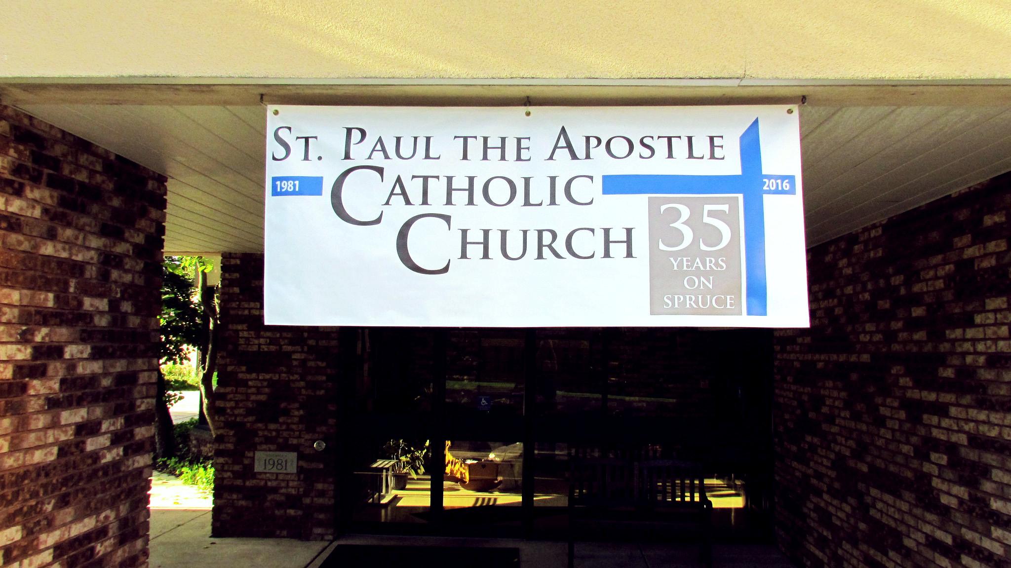 St. Paul Apostle Church Banner