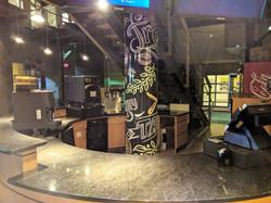 Cafe Pole Graphics