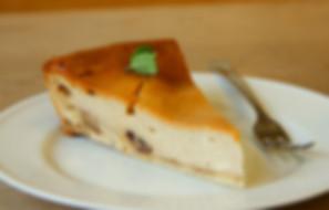 黒糖チーズケーキ写真