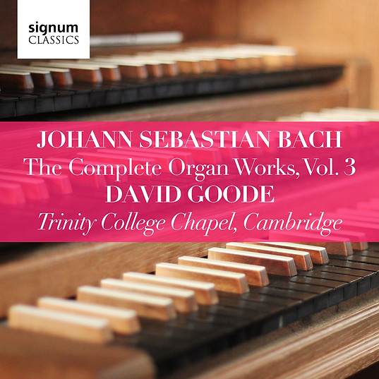 David Goode Complete Bach vol.3