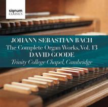 David Goode Complete Bach vol 13