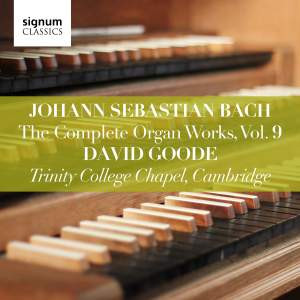 David Goode Complete Bach volume 2