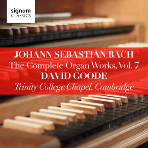 David Goode Complete Bach vol.7