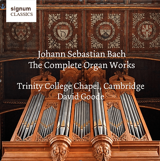 David Goode Complete Bach Organ Works
