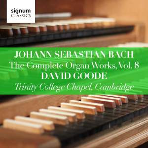David Goode Complete Bach vol.8