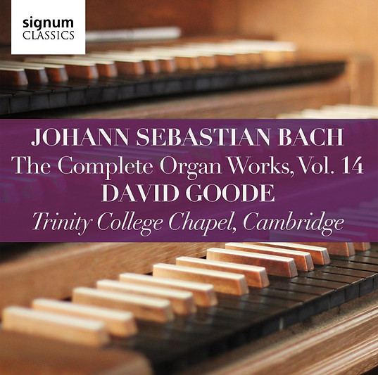 David Goode Complete Bach vol 14