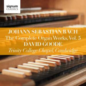 David Goode Complete Bach vol 5