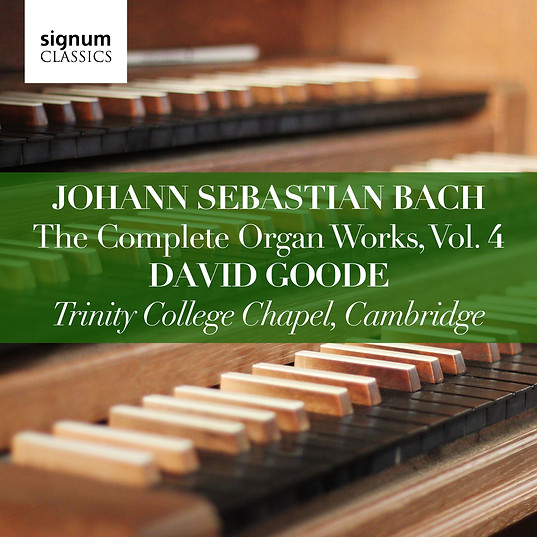 David Goode Complete Bach vol.4