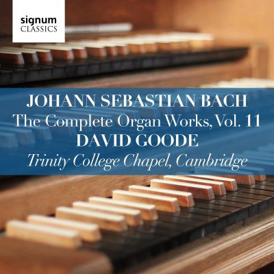 David Goode Complete Bach vol 11