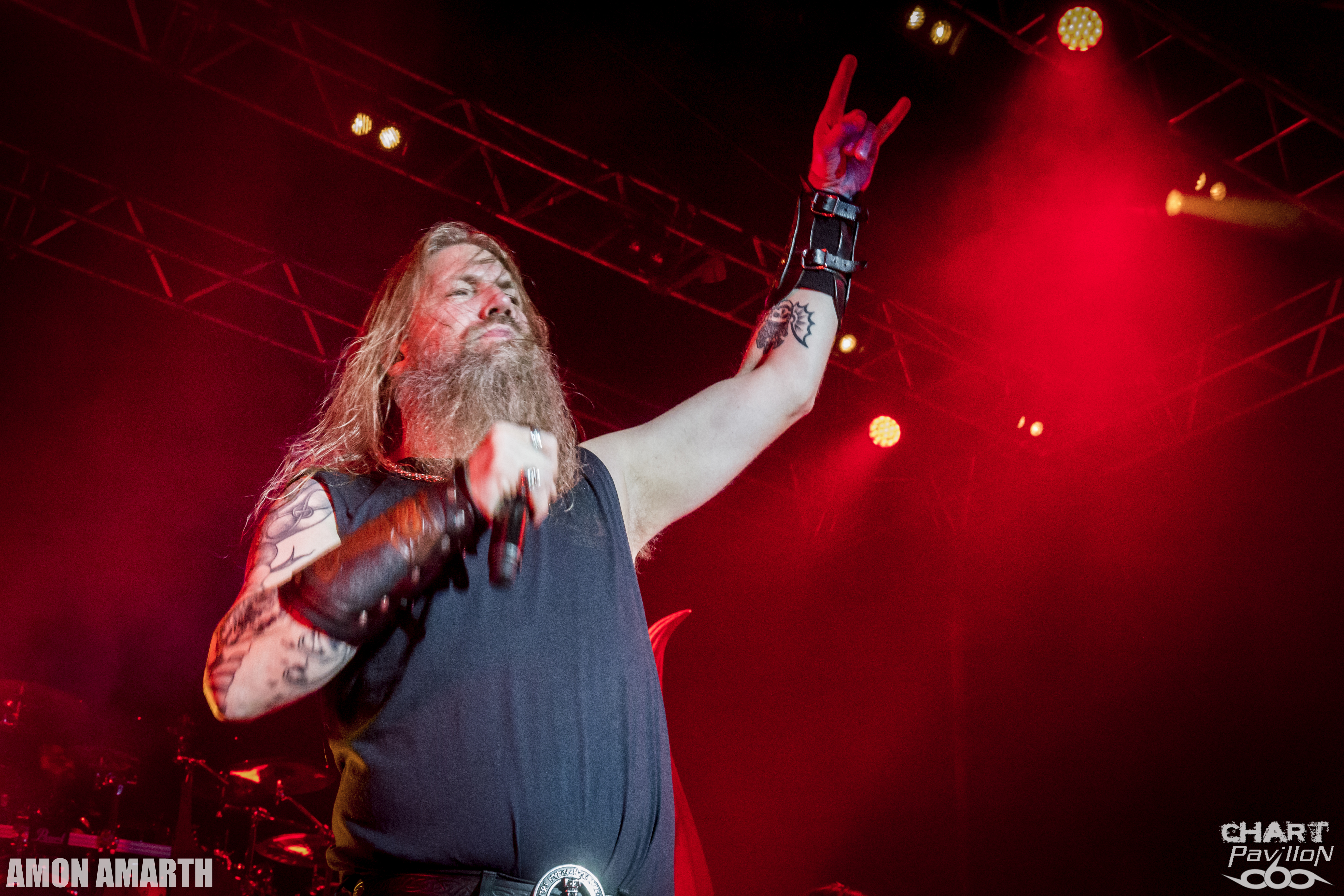 Chart Photography Amon Amarth