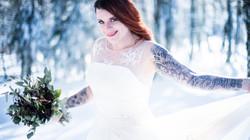 Mariée tatouée Anthéa Photography