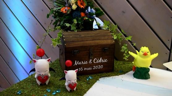Chocobo et Moogles en mariage