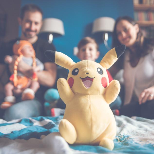 séance photo pokemon