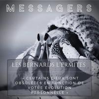 """Les bernards lermites """"messagers"""""""