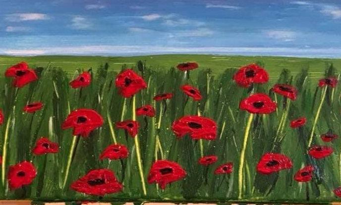 Meadow of poppies - BEST SELLER! (Original style poppies)