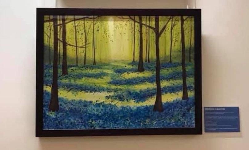 LIMITED EDITION (1) - Woodland walk through bluebells