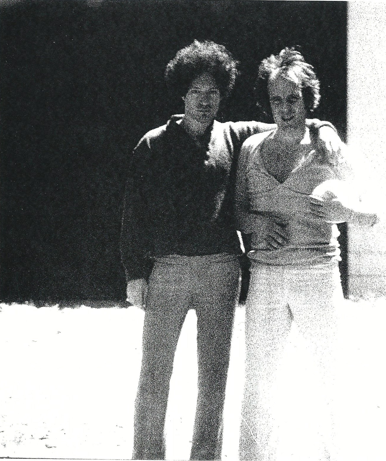 With Tim Hardin, Woodstock,NY 1970