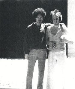With Tim Hardin, Woodstock,NY 1970