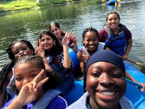 Girls Rafting Trip Summer 2019