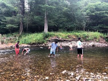 Boys | Creek Trip-2019