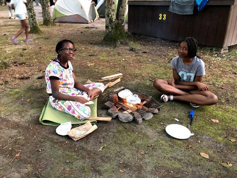 Girls Camping 1 2019