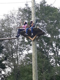 Girls High Ropes Course Summer 2019