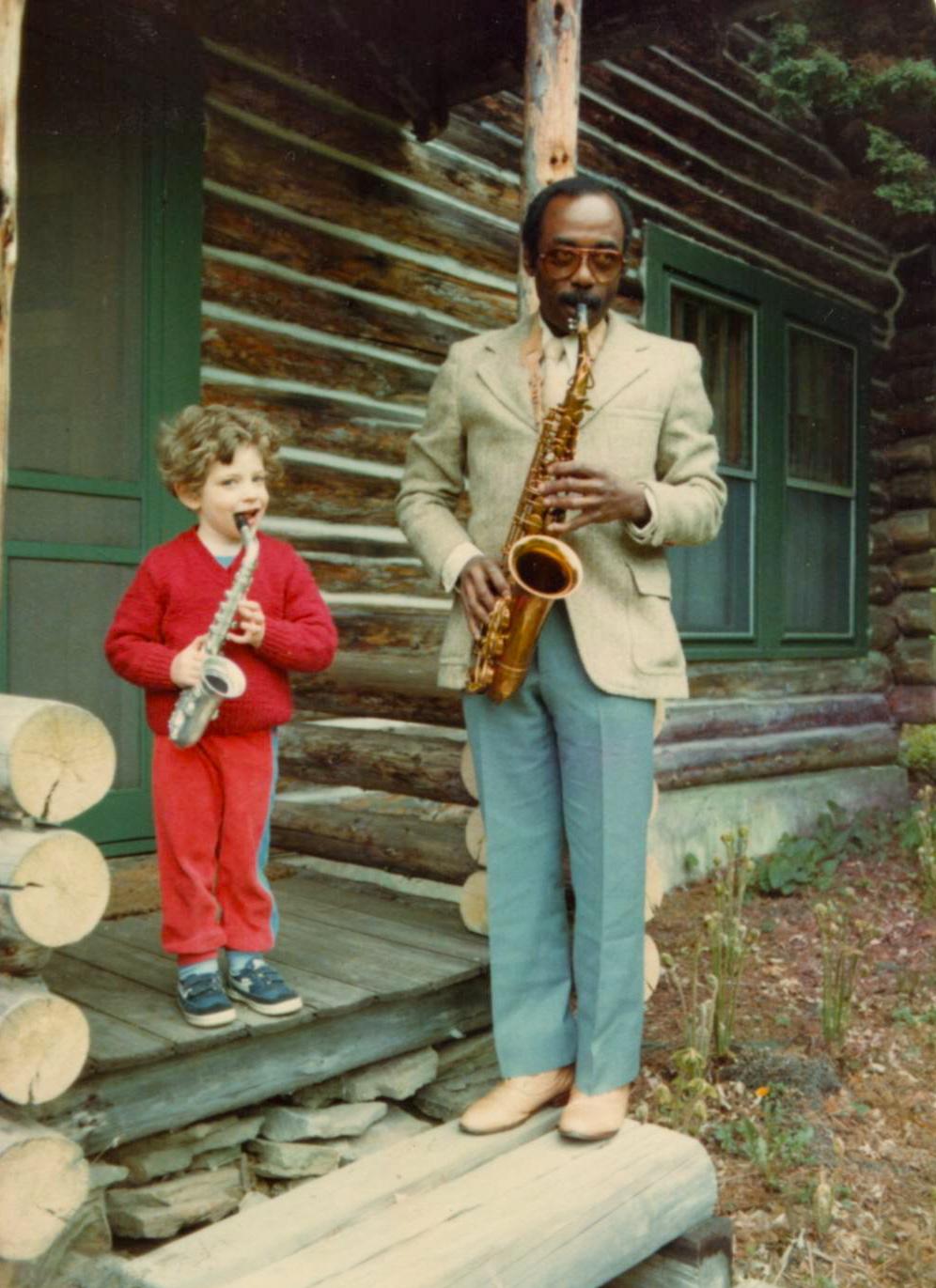 Charles and Dan-1983