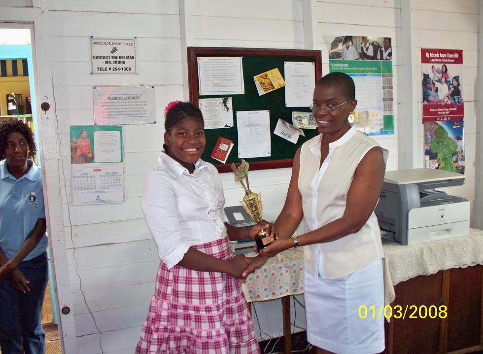 GGEP Summer Reading Challenge Prize Givi