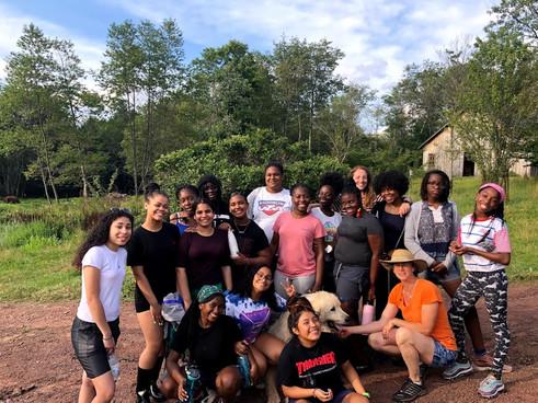 Girls Farm Visit 1 2019