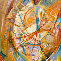 Abstract Oil Painting Series 7.1
