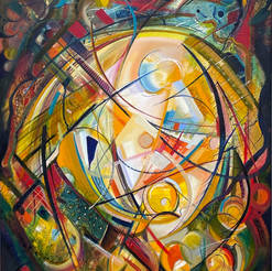 Abstract Oil Painting Series 5.1
