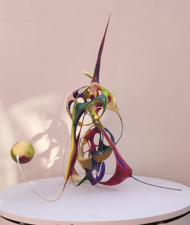 MJP Oil Painting in Sculpture3.1