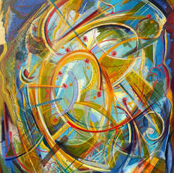 Abstract Oil Painting Series 6.1