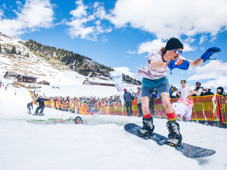 Snowbombing by ANDREW WHITTON