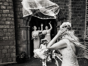 A Windy Day by Andrew Billington