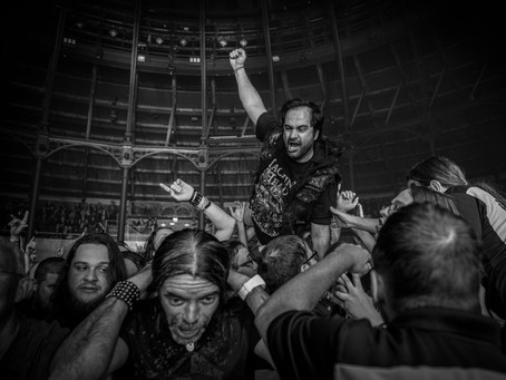 CROWD SURFER by KATIE FROST