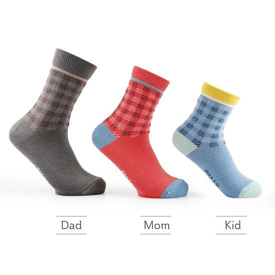 ถุงเท้าครอบครัว ใส่ได้ทั้งพ่อแม่ลูก Family matching