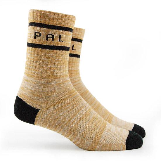 """ถุงเท้าแฟชั่นสตรีท สีพื้น """"PAL"""""""